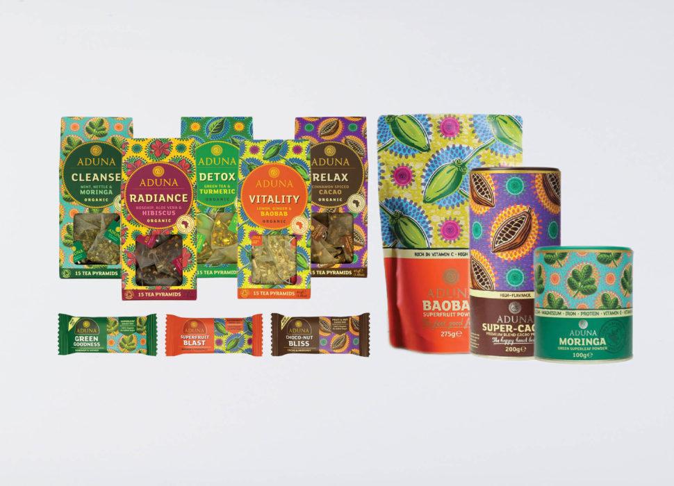 Aduna Superfood poeders & repen