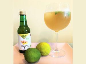 Cocktail met gember sap